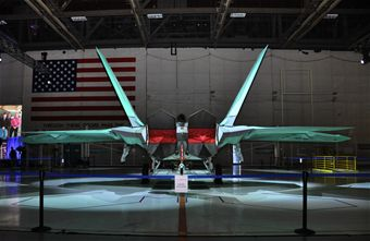 Final F-22 rollout 2011
